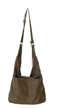 Snazzy-Slouch-faux-leather- PDF handbag pattern by ChrisW Designs