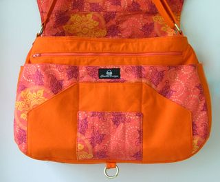 Savannah Messenger Bag PDF Pattern by ChrisW Designs