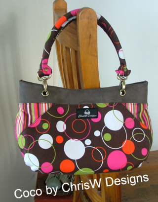 Coco FREE bag pattern by ChrisW Designs