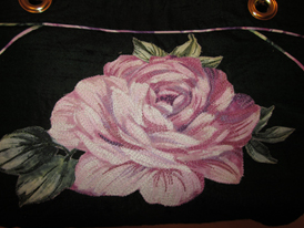 Coco's flower- embroidered by Lorraine Slavkovsky - Pattern by ChrisW Designs