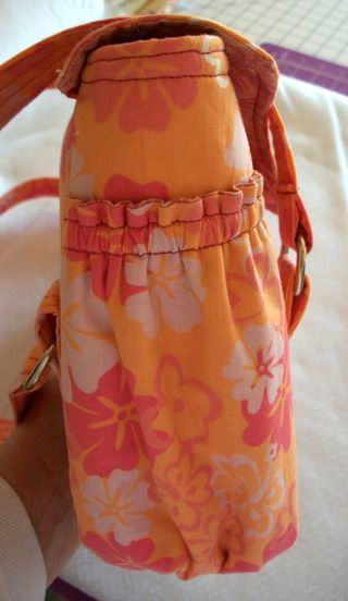 Bag Pattern Evelyn crafted by Patty
