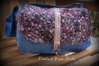 Small Savannah bag - a ChrisW Designs bag sewing pattern - Bag made by Daryl of Patchouli Moon Studio