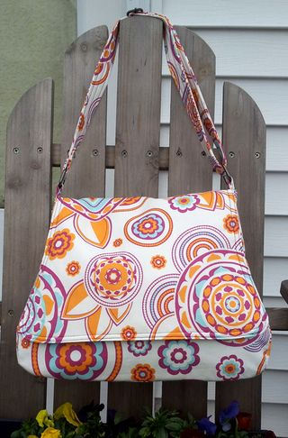 PDF bag sewing pattern by ChrisW Designs - crafted by Robin!