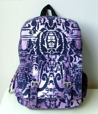 Purple Backpack by ChrisW Designs