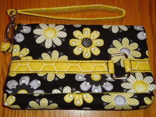 A ChrisW Designs Clutch Pattern - made by Jessica of Frogs Crafty Creations
