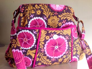 Genevieve designer handbag pattern - a ChrisW Designs pdf sewing pattern - bag crafted Stephanie