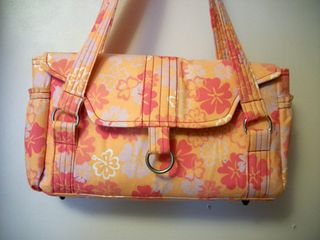 Patty's Evelyn Handbag - Pattern by ChrisW Designs