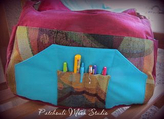 A ChrisW Designs Bag sewing pattern made by Daryl of Patchouli Moon Studio