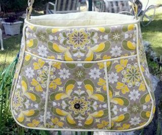 ChrisW Designs designer bag pattern crafted by Trish!