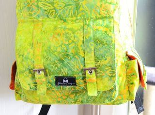 An advanced backpack sewing pattern by ChrisW Designs