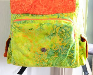 ChrisW Designs - a PDF sewing pattern for a backpack