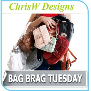 Bag Brag Tuesday Linking Party at ChrisW Designs