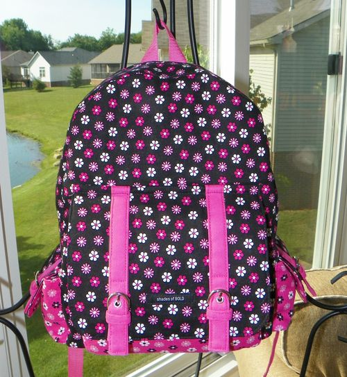 PDF Backpack by Marilyn - Dusk To Dawn a ChrisW Designs PDF backpack pattern