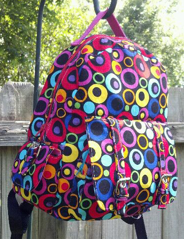 Advanced backpack pattern sewn by Trish - Designed by ChrisW Designs