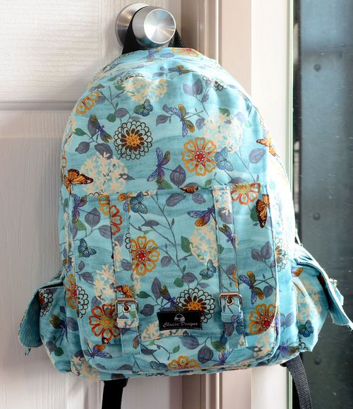 d7a0acf223b2 PDF backpack sewing pattern for advanced sewists by ChrisW Designs