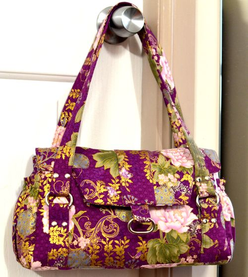 Evelyn PDF Designer Handbag Pattern by ChrisW Designs