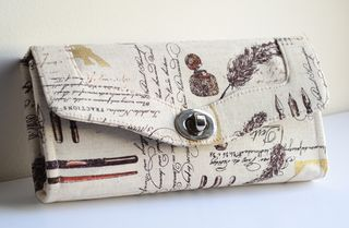 The Necessary Clutch Wallet by Janelle of Emmaline Bags!