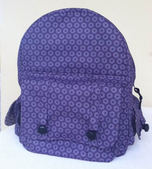 Dusk To Dawn Backpack Pattern crafted by Norma - A ChrisW Designs Backpack pattern