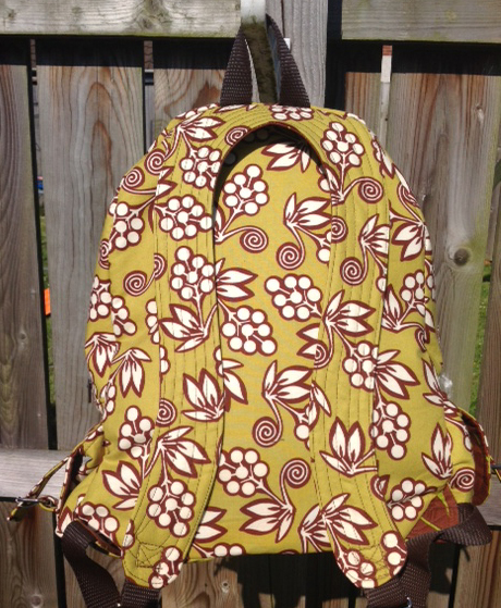 A PDF backpack pattern by ChrisW Designs - Sewn by Stephanie