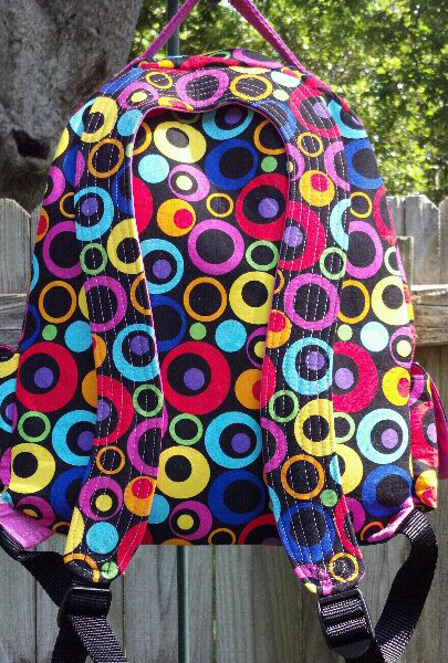 Trish's handiwork - a ChrisW Designs PDF Backpack Pattern