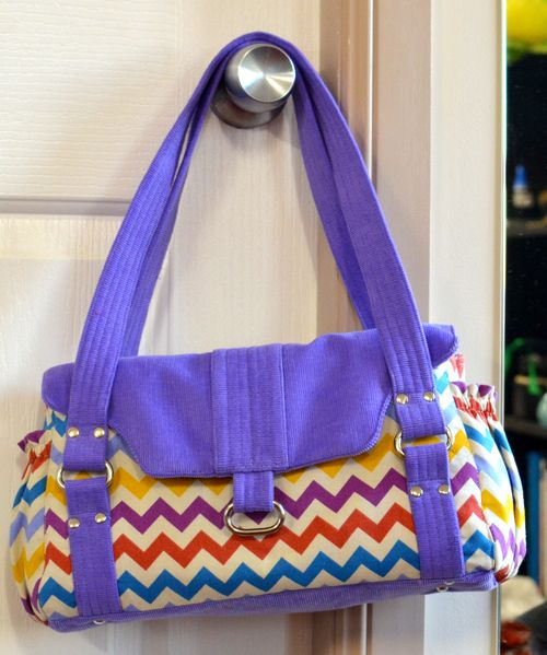Evelyn PDF Designer Handbag Sewing Pattern by ChrisW Designs