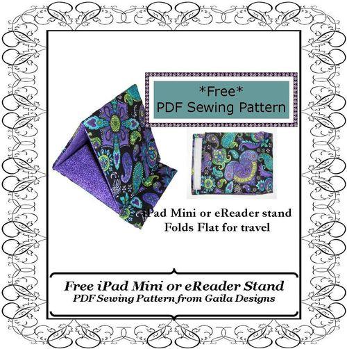 Free eReader stand