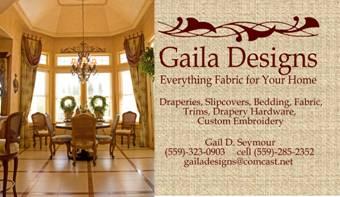 Business Card for Gaila Designs