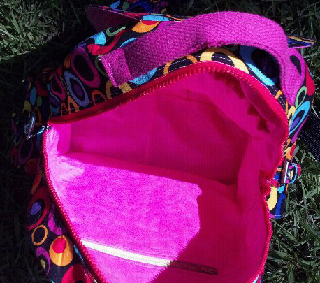 PDF sewing pattern for a Backpack - Made by Trish, designed by Christine Welsh - ChrisW Designs
