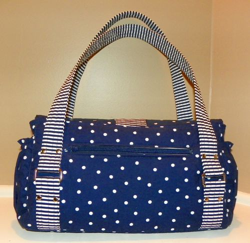 Marilyn's Evelyn - a ChrisW Designs PDF bag sewing pattern