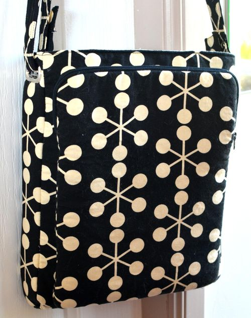 Cross the body bag with adjustable strap