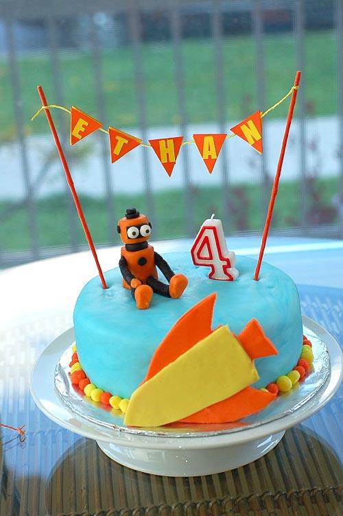 Cake by Nerissa of nissaMade!