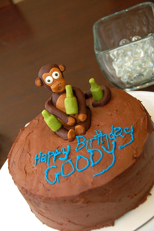 Monkey Cake by Nerissa of nissaMade