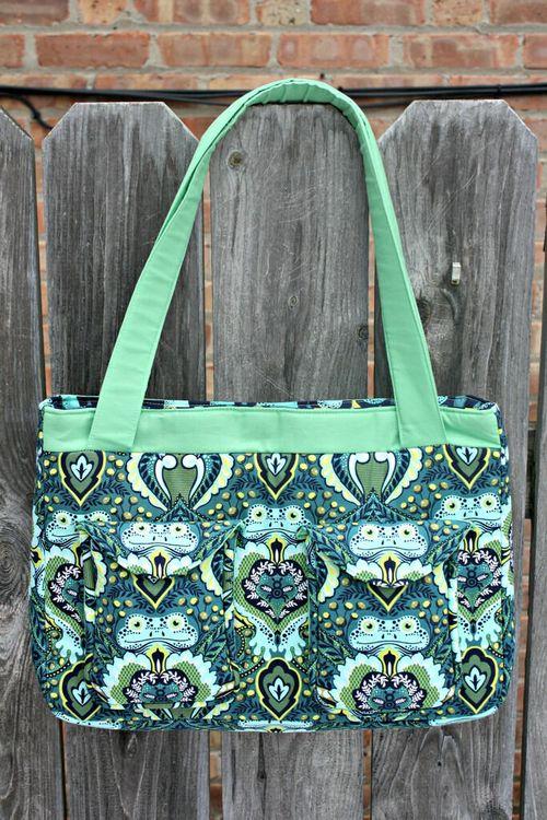 Paparazzi bag pattern by Sew Sweetness