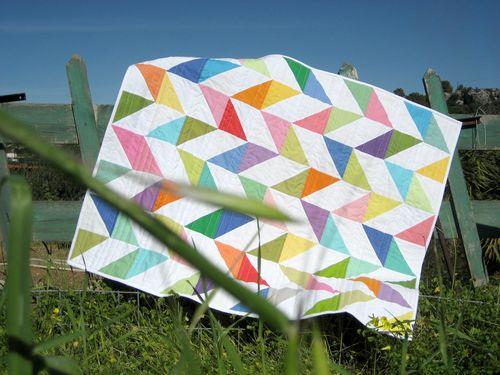 Read about the Happy Days Quilt by clicking here!
