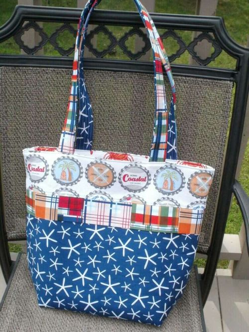 Anita Vacation Tote pattern - eamylove