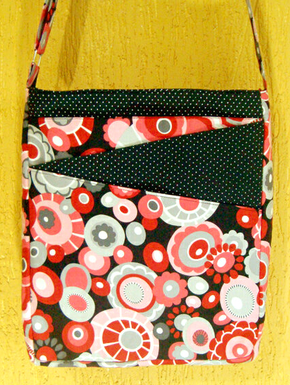 Camila's version of the Lombard Street bag - A ChrisW Designs PDF sewing pattern