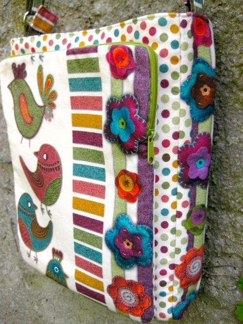 Liz's Lombard Street Bag - A ChrisW Designs Advanced Sewing Pattern!