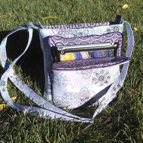 Rachel's iPad Pocket of the Lombard Street Bag