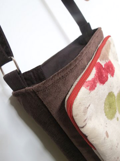 back view of Maria's Lombard Street Bag