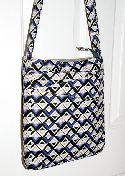 Anna's Lombard Street bag! An Advanced bag sewing pattern by ChrisW Designs