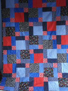 Quilt by Stephanie of My Calico Heart!