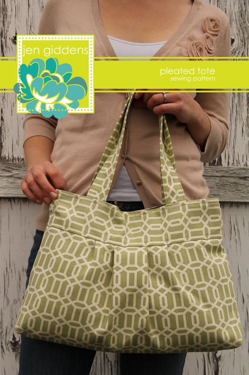 Pleated Tote - Jen Giddens