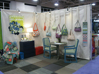 Quilt market booth - Spring 2011