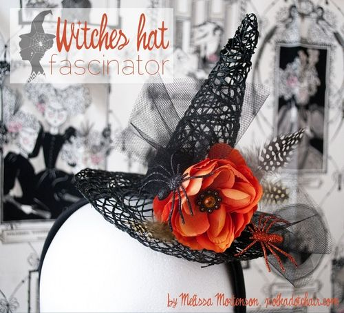 Witches Hat Fascinator Tutorial