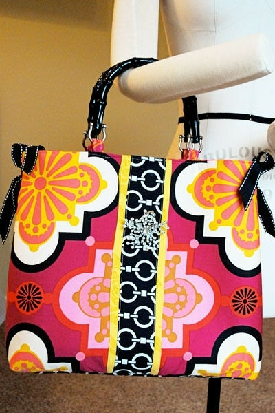 Sunday Bag - A Bag PDF sewing pattern by Melissa Mortenson