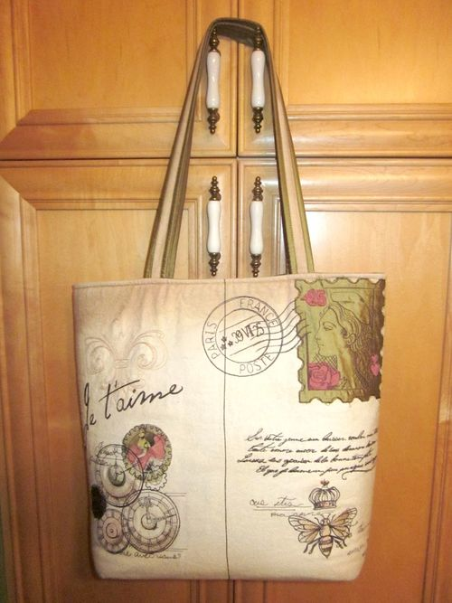 Side 2 of Lorraine Slavkovsky Awesome Tote bag