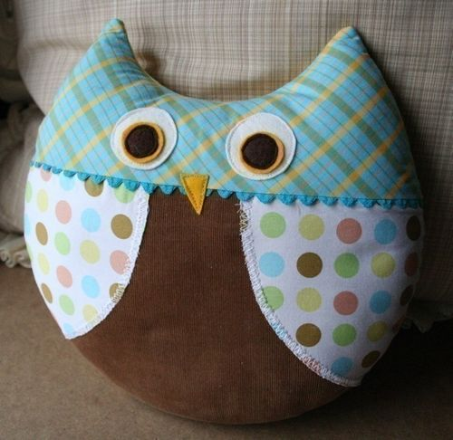Max Owl by Virginia Lindsay of Gingercake