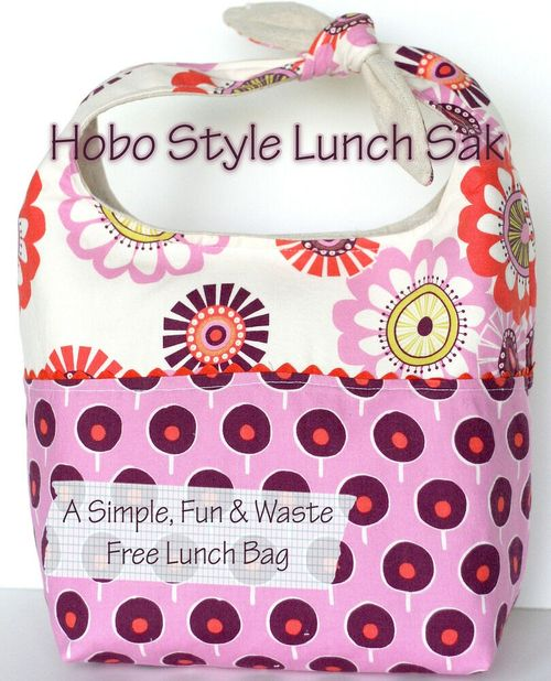 Hobo Lunch Sak by Virginia Lindsay of Gingercake Patterns