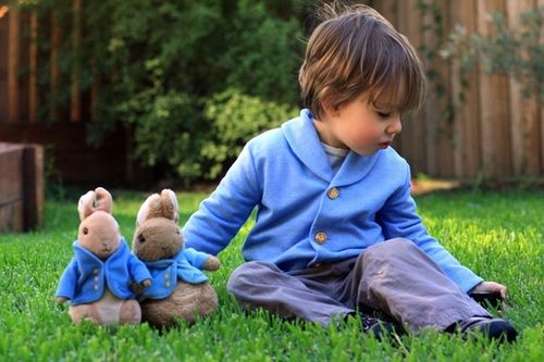 Peter Rabbit Jacket by Abby Rudakov
