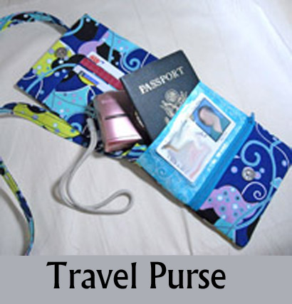 Travel Purse by Sid's in Stitches
